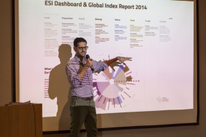 Alejandro Litovsky, CEO of ESI presents the Global Index Report to frame the strategy and content of the Global Table