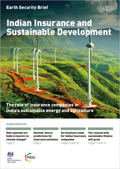 Indian insurance and sustainable development