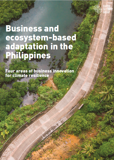 Report - Business and ecosystem-based adaptation in the Philippines