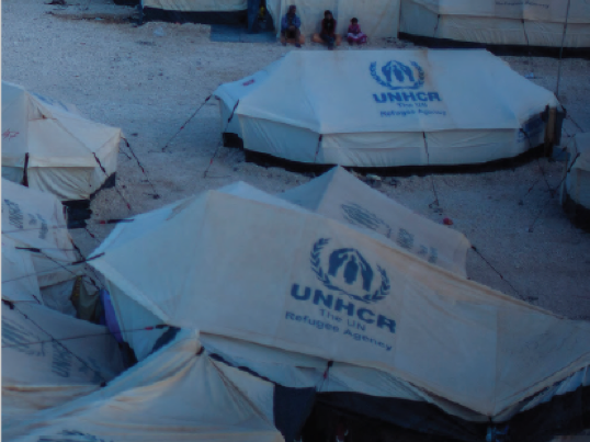 Public-private partnerships to address forced displacement in the Middle East